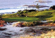 Pebble Beach Golf Course.