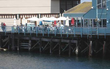 Restaurant on Monterey Fisherman's Wharf.